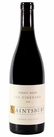 2007 Saintsbury Pinot Noir Lee Vineyard
