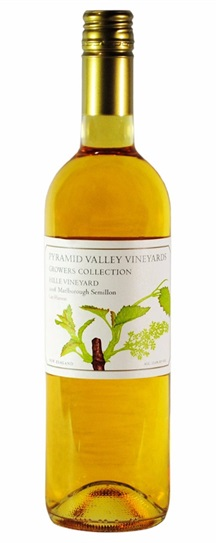 2008 Pyramid Valley Vineyards Growers Collection Hille Vineyard Late Harvest