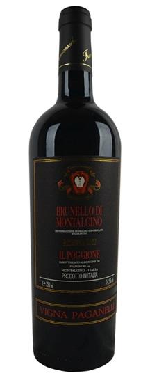 2007 Il Poggione Brunello di Montalcino Riserva Vigna Paganelli