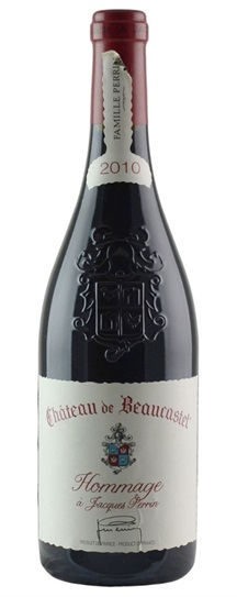 2007 Beaucastel, Chateau Chateauneuf du Pape Hommage A Jacques Perrin