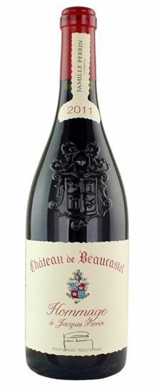 2011 Beaucastel, Chateau Chateauneuf du Pape Hommage A Jacques Perrin