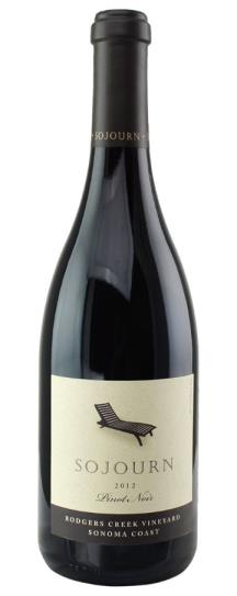 2008 Sojourn Cellars Pinot Noir Rodgers Creek Vineyard