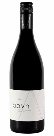 2012 A.P. Vin Pinot Noir Garys' Vineyard
