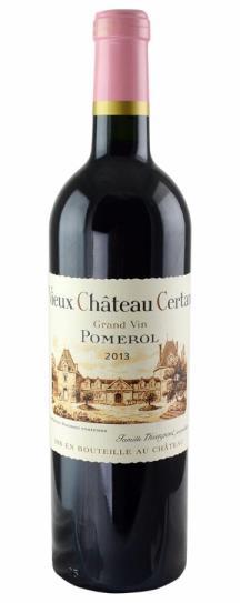 2013 Vieux Chateau Certan Bordeaux Blend