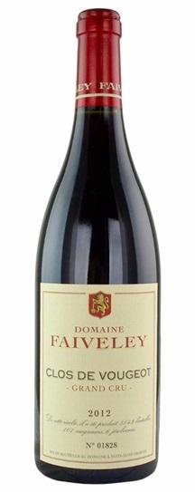 2012 Domaine Faiveley Clos de Vougeot