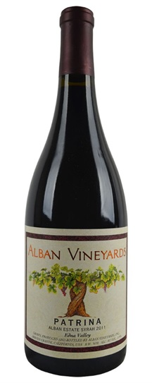 2011 Alban Vineyards Syrah Patrina