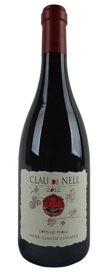 2011 Clau De Nell Cabernet Franc