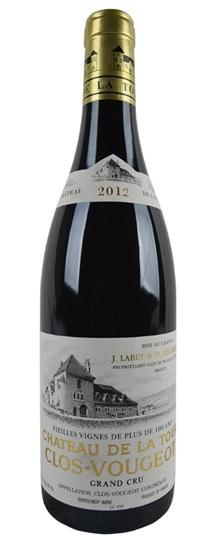 Buy 2012 chateau de la tour clos vougeot vieilles vignes for La fenetre a cote pinot noir 2012