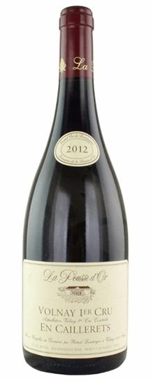 2012 Domaine de la Pousse d'Or Volnay En Caillerets
