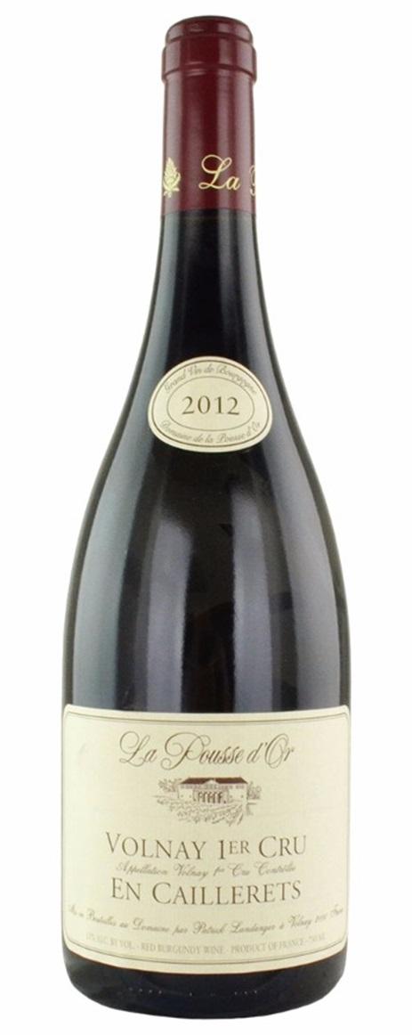 Buy 2012 pousse d 39 or domaine de la volnay en caillerets for La fenetre a cote pinot noir 2012