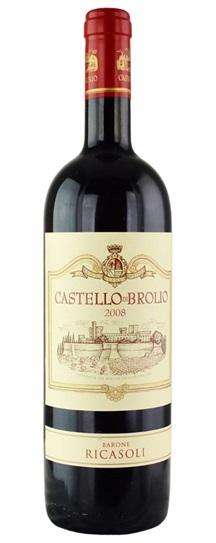 2008 Barone Ricasoli Chianti Classico Castello di Brolio