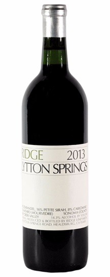 2011 Ridge Lytton Springs Proprietary Red Wine