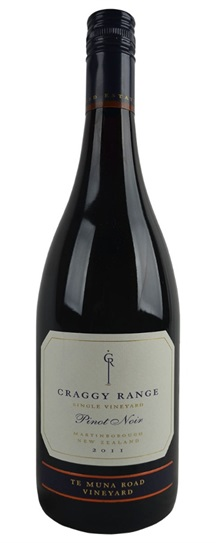 2011 Craggy Range Pinot Noir Te Muna Road Vineyard