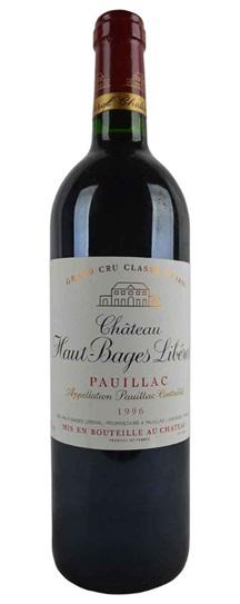 1995 Haut Bages Liberal Bordeaux Blend