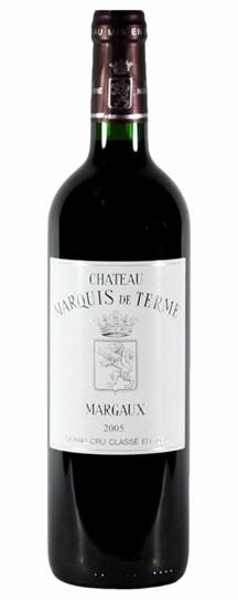 2000 Marquis-de-Terme Bordeaux Blend