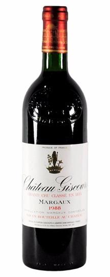 1986 Giscours Bordeaux Blend