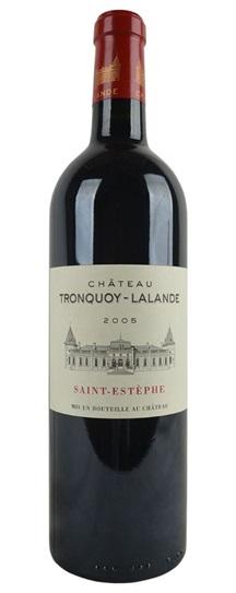 1995 Tronquoy-Lalande Bordeaux Blend