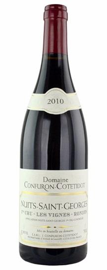 2010 Confuron Cotetidot Nuits St. Georges Vignes Rondes