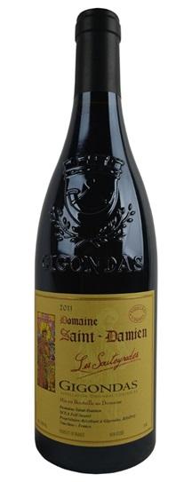 2007 St Damien, Domaine Gigondas les Souteyrades