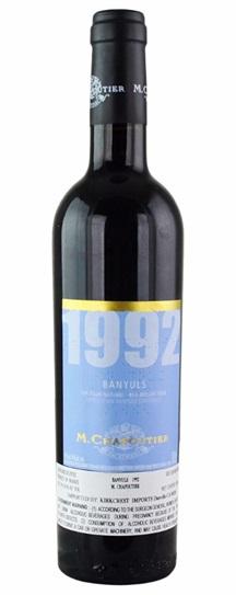 1992 Chapoutier Banyuls