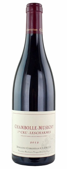 2012 Domaine Clerget Chambolle Musigny les Charmes