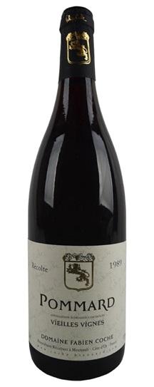 1989 Fabien Coche Pommard Vieille Vignes