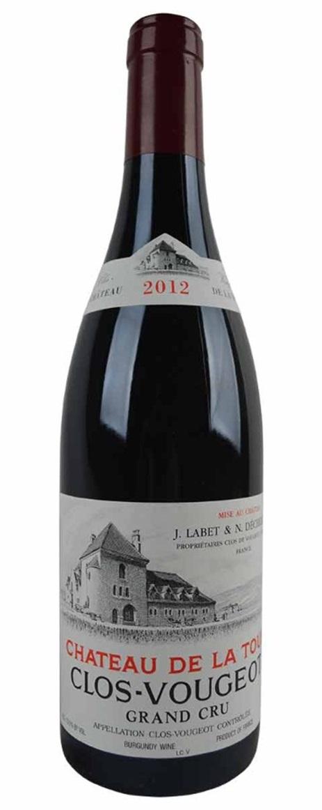Buy 2012 chateau de la tour clos vougeot 750ml online for La fenetre a cote pinot noir 2012
