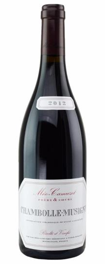2012 Meo Camuzet Frere et Soeurs Chambolle Musigny
