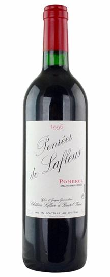 1996 Les Pensees de Lafleur Bordeaux Blend