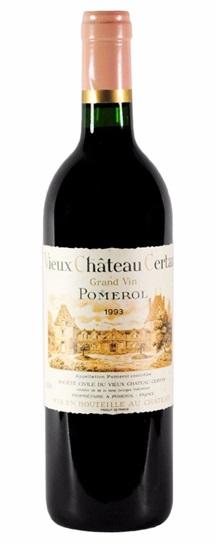 1983 Vieux Chateau Certan Bordeaux Blend