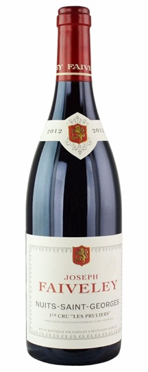 2012 Faiveley Nuits St. Georges Les Pruliers
