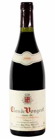 2000 Domaine Jean-Marc Millot Clos Vougeot