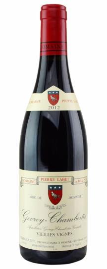 2012 Pierre Labet Gevrey Chambertin Vieille Vignes