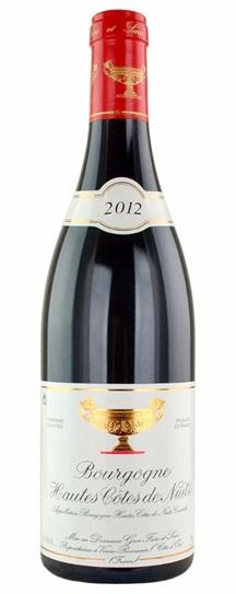 2012 Domaine Gros Frere et Soeur Bourgogne Hautes Cotes de Nuits