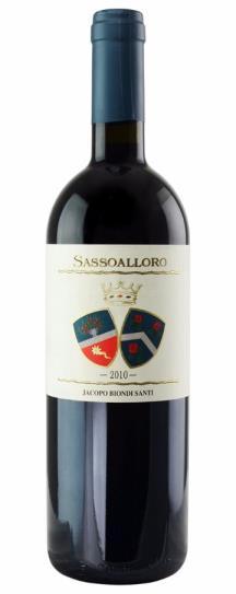 2010 Jacopo Biondi Santi Sassoalloro