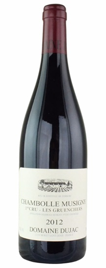 2012 Dujac, Domaine Chambolle Musigny les Gruenchers