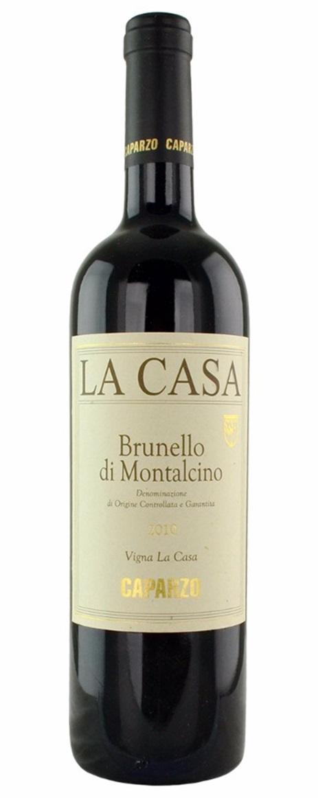Buy 2010 caparzo brunello di montalcino la casa 750ml online for Casa di 750 m