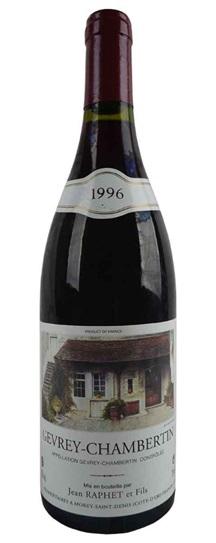 1996 Domaine Jean et Fils Raphet Gevrey Chambertin