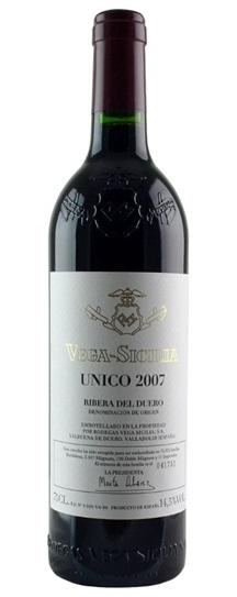 2007 Vega Sicilia Unico