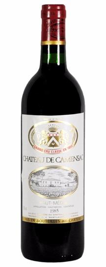 1972 Camensac Bordeaux Blend