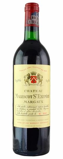 1985 Malescot-St-Exupery Bordeaux Blend