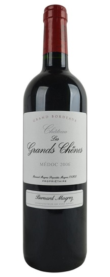 2006 Chateau les Grand Chenes Bordeaux Blend