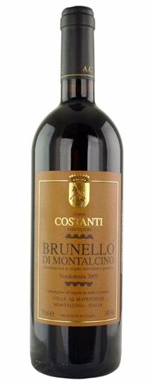 2009 Costanti Brunello di Montalcino