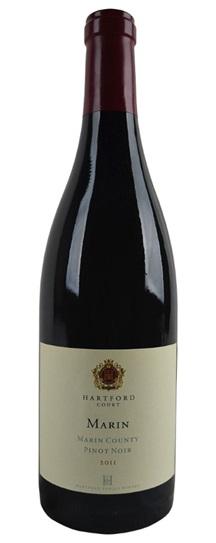 2011 Hartford Court Pinot Noir Marin Vineyard