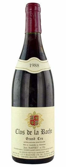 1988 Domaine Jean et Fils Raphet Clos de la Roche
