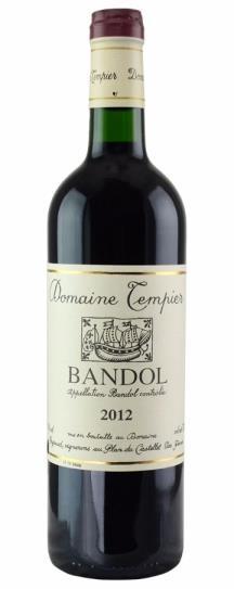 2009 Domaine Tempier Bandol Cuvee Classique