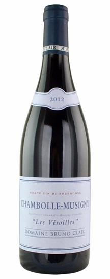 2012 Bruno Clair Chambolle Musigny les Veroilles