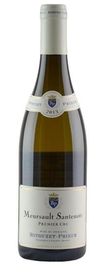 2013 Domaine Bitouzet Prieur Meursault Santenots
