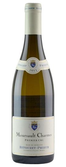 2013 Domaine Bitouzet Prieur Meursault Charmes