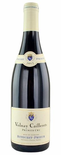 2013 Domaine Bitouzet Prieur Volnay Caillerets
